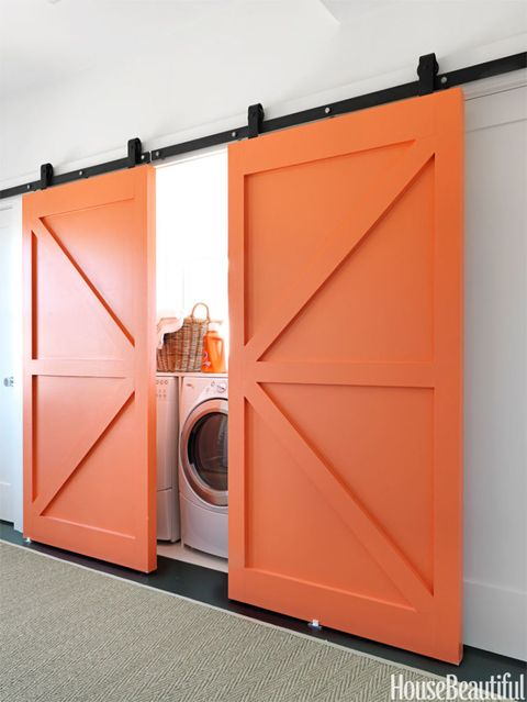 Product, Orange, Washing machine, Peach, Amber, Laundry room, Fixture, Clothes dryer, Major appliance, Door,