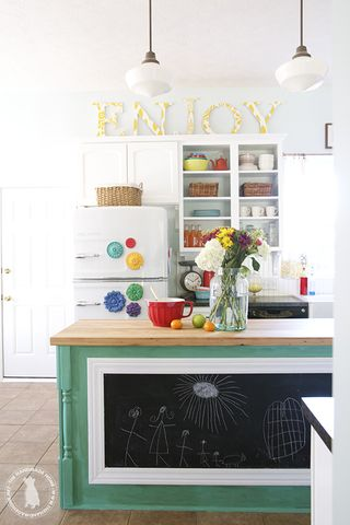 14 Ideas for Decorating Space Above Kitchen Cabinets - How ...