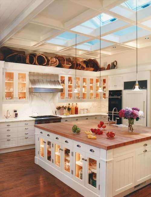 14 Ideas for Decorating Space Above Kitchen Cabinets - How to Design on