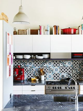 Decorating Space Above Kitchen Cabinets, Styling Top Of Kitchen Cabinets
