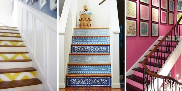 Decorating a staircase kemistorbitalshow decorating a staircase junglespirit Images