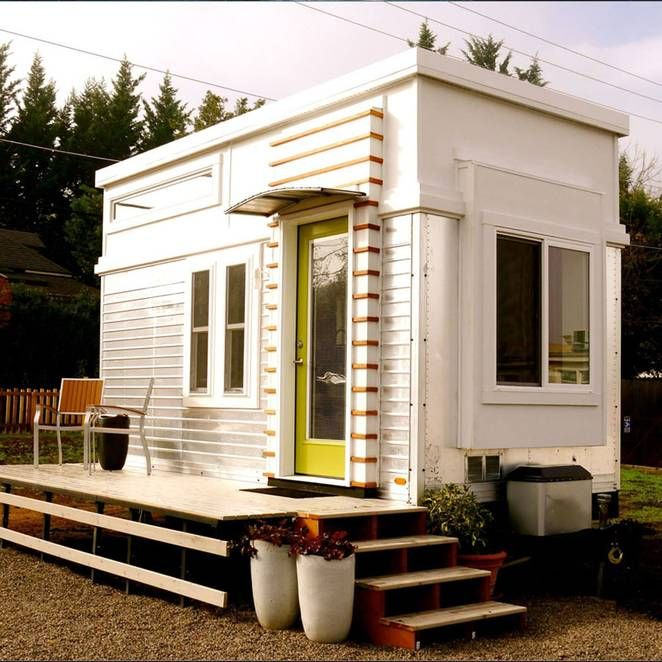An Old Trailer Becomes a Cheerful, Tiny Retreat