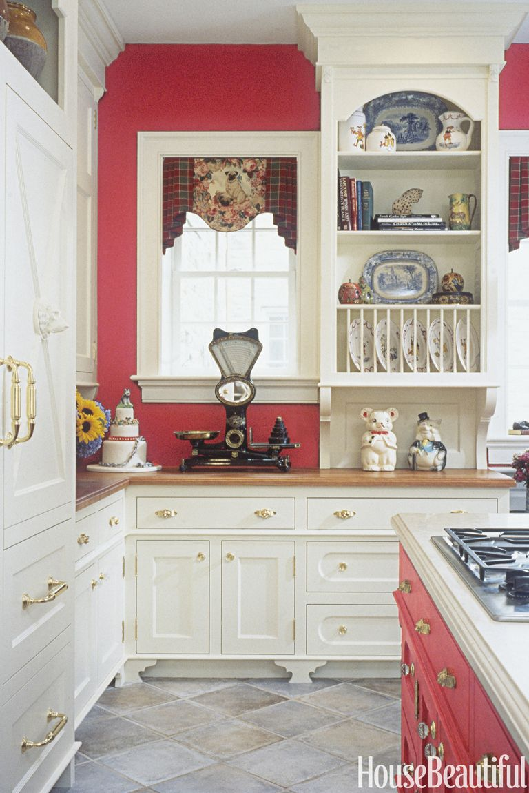 14 Red Kitchen Decor Ideas Decorating A Red Kitchen