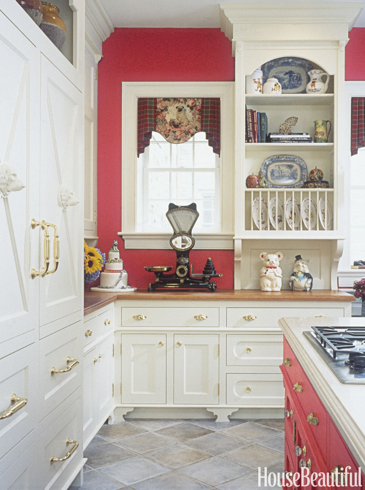 Exceptionnel Red Kitchen