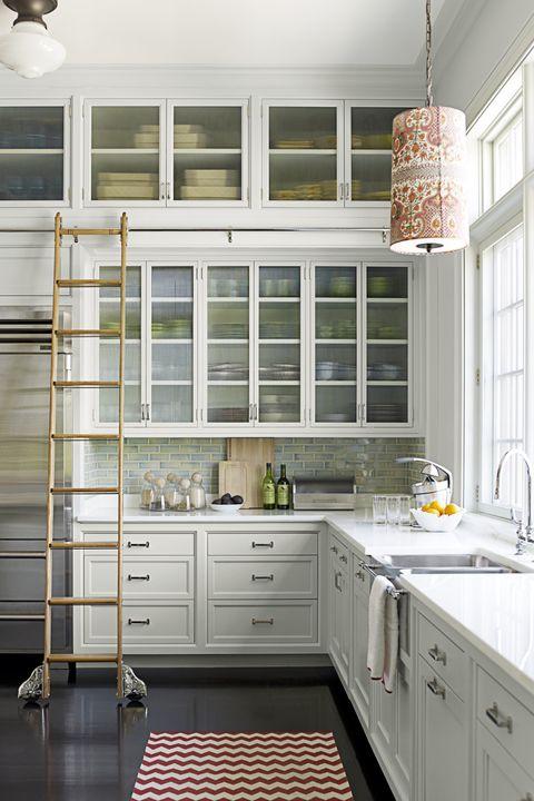 Pale Powder Kitchen