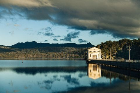 Need Privacy? Spend the Night in the Middle of a Lake