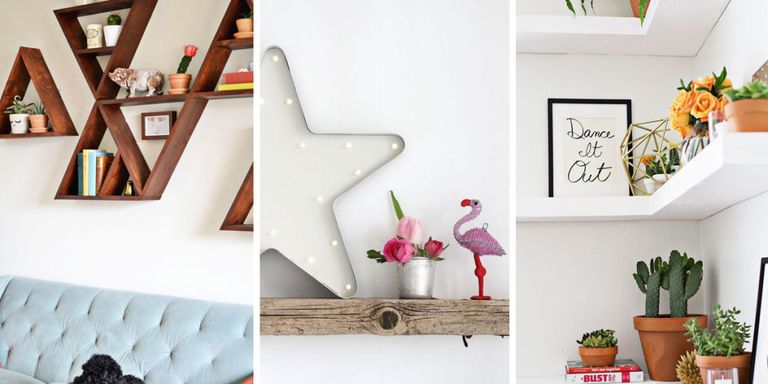 Add a little DIY whimsy to your vertical display.