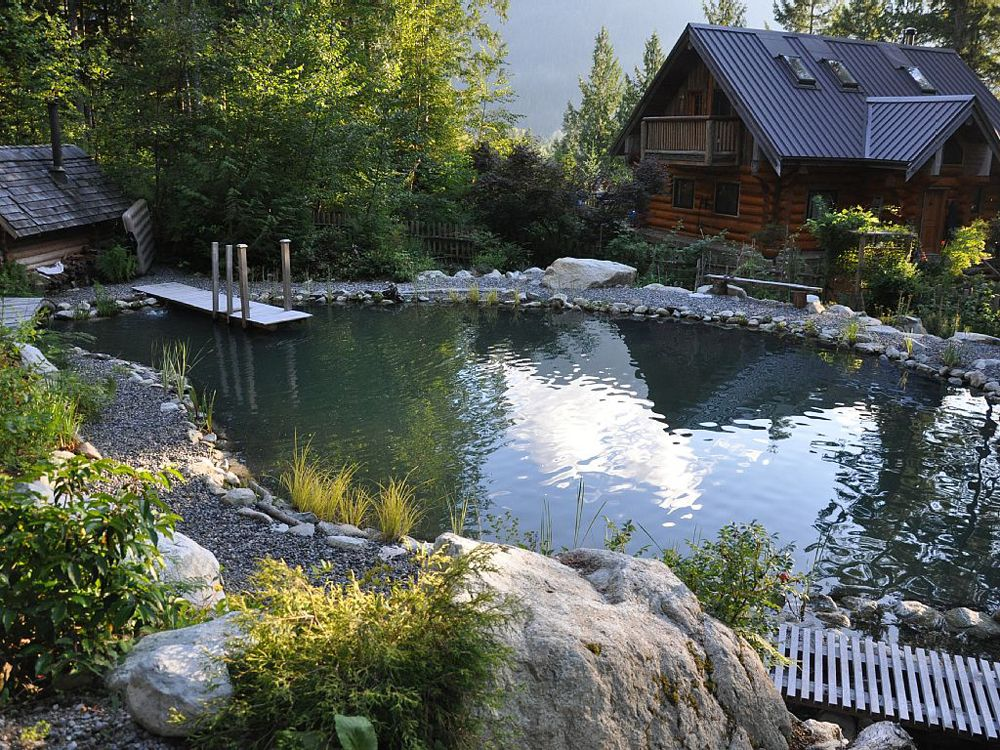6 Homes Starring Stunning, All-Natural Pools