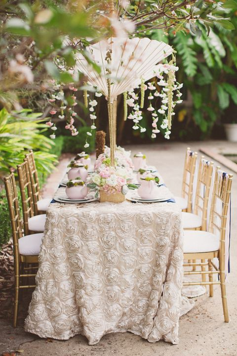 e5d05dec6c6 image. J. Layne Photography. Embrace Whimsy. A fantasy comes alive with  this garden-inspired bridal shower.