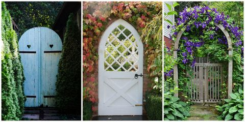 Beautiful Garden Gates