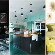Room, Interior design, Green, Yellow, Property, Floor, Furniture, Wall, Living room, Ceiling,