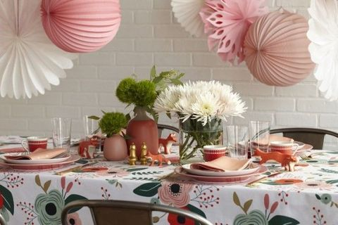Baby Shower Centerpieces And Table Decorations Tablescape Ideas