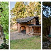 Wood, Property, Real estate, House, Home, Land lot, Roof, Rural area, Cottage, Door,