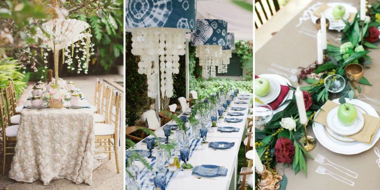 Bridal shower tablescape ideas how to decorate for a bridal shower junglespirit Image collections