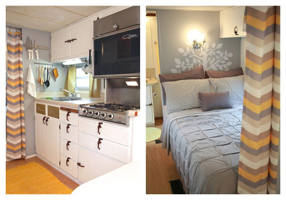 Camper Makeovers - Ideas for Renovating RVs