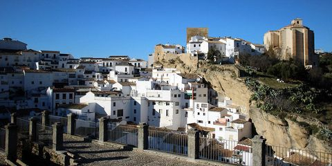 This Spanish Town Is Living Under a Rock
