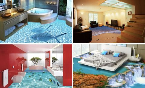 These 3D Floors Turn Your Home Into a Magical Scene