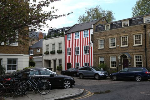 Striped Kensington Townhouse