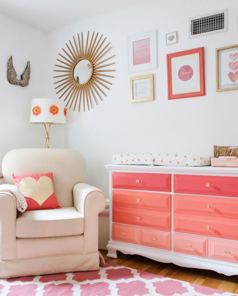 30 Cute Baby Nursery Room Decoration Design: 12 Cute Nursery Decorating Ideas