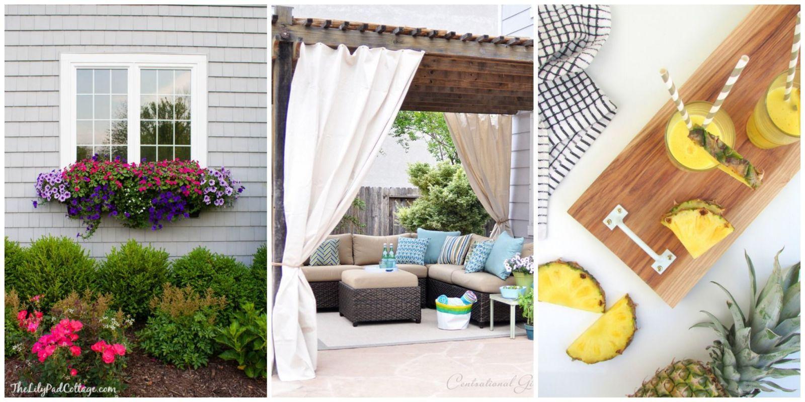 9 DIYs to Cozy Up Your Backyard