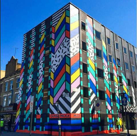 Camille Walala Dream Come True Building