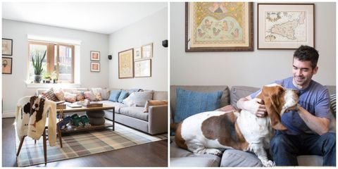 An Eclectic Home Makeover Inspired by a Dog