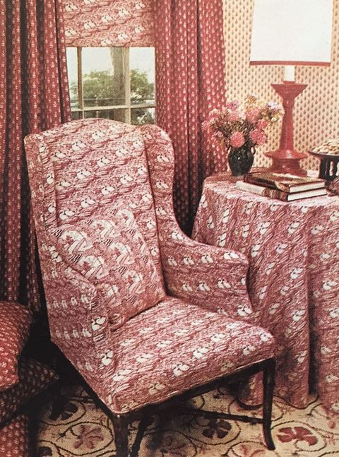 Laura Ashley\'s 1976 Home - Seventies Home Decor