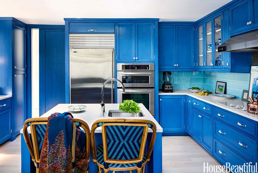 blue rooms an ode to americas favorite color - Blue House Design