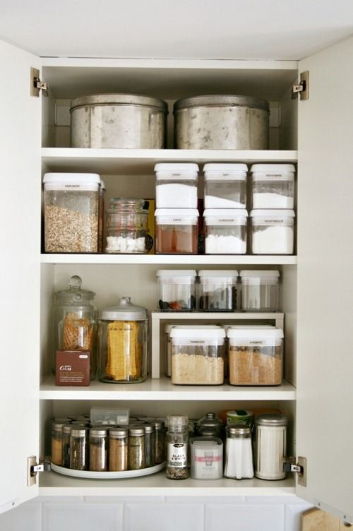 how to organize kitchen cabinets storage tips ideas for cabinets rh housebeautiful com