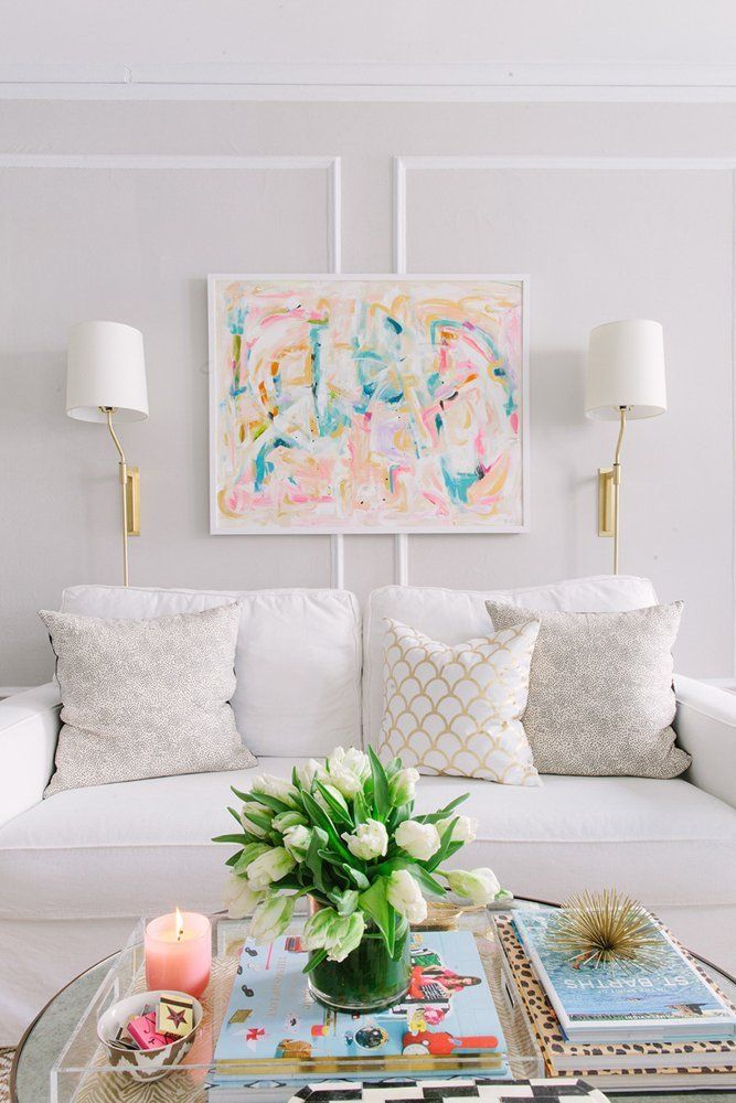 How To Decorate Living Room Table Part - 25: House Beautiful
