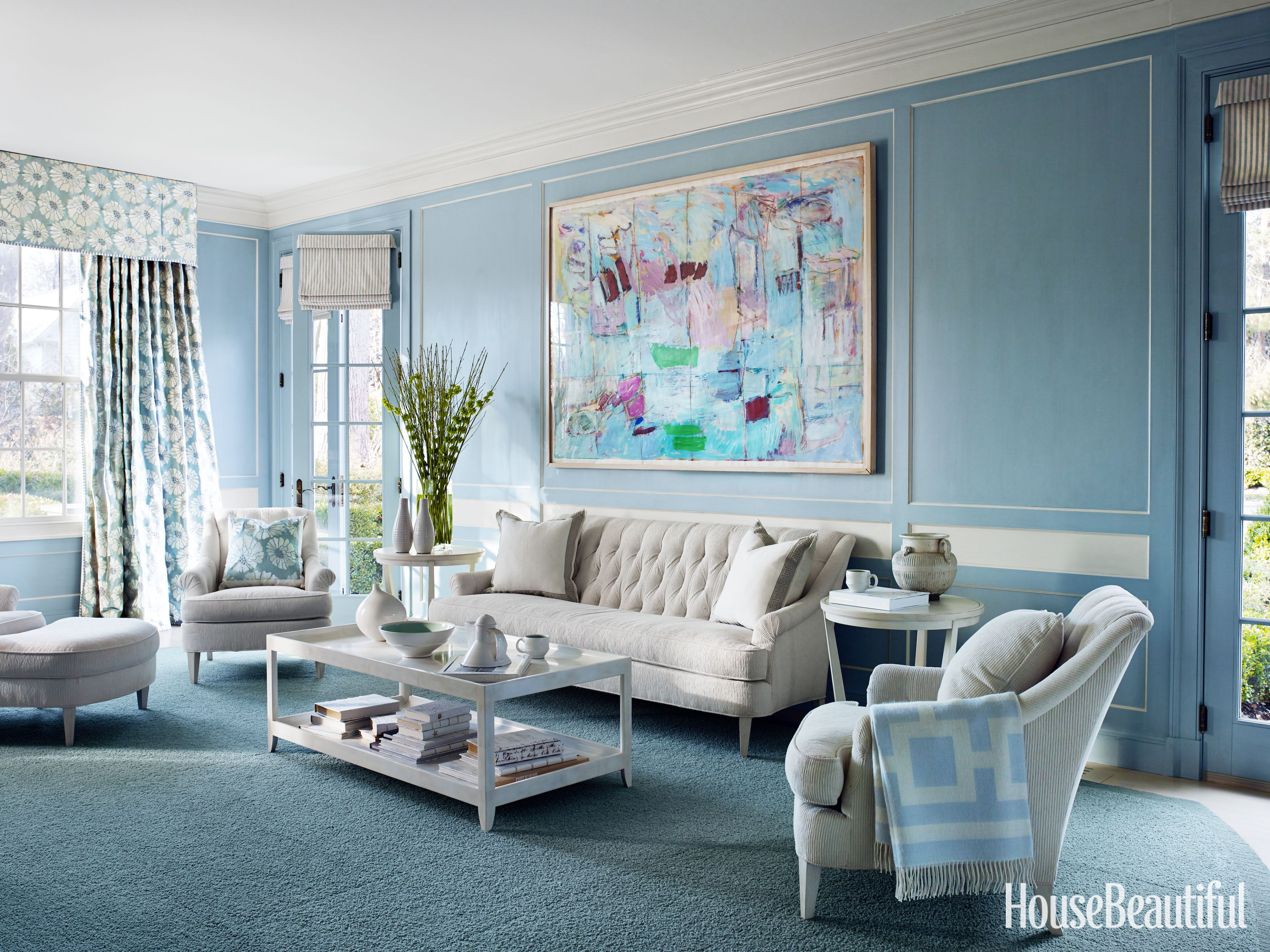 How to Decorate With Blue - Using Blue in Every Room of the House