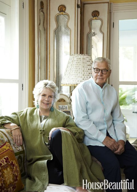 "<p>""John and I are like bookends. We share a love of houses, collecting, gardens, dogs, and especially a love of people."" —Bunny Williams</p> <em><a href=""http://www.housebeautiful.com/home-remodeling/interior-designers/a3837/bunny-williams-interview/"" target=""_blank"">Learn more about the designing duo here.</a></em>"