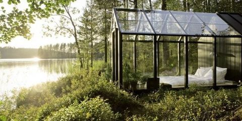 This Glass Cabin Begs for a Home With Garden Views