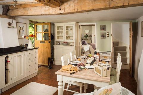 Storybook English Cottage Inside The Faerie Door In Wiltshire England