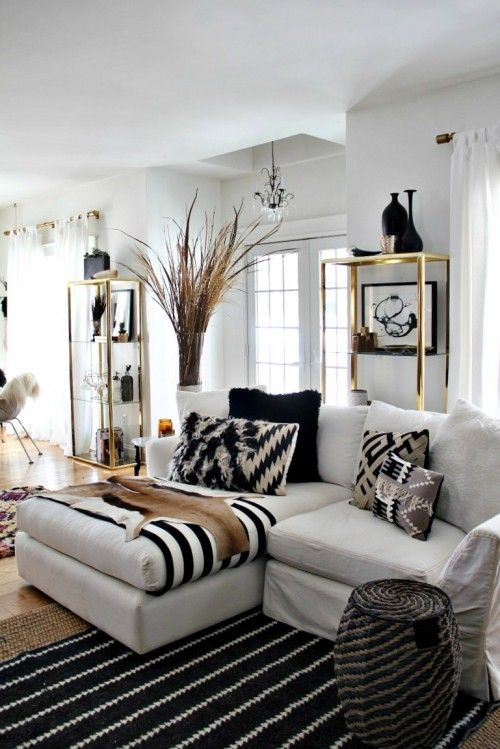 Decorating With Gold Rooms With A Pop Of Gold