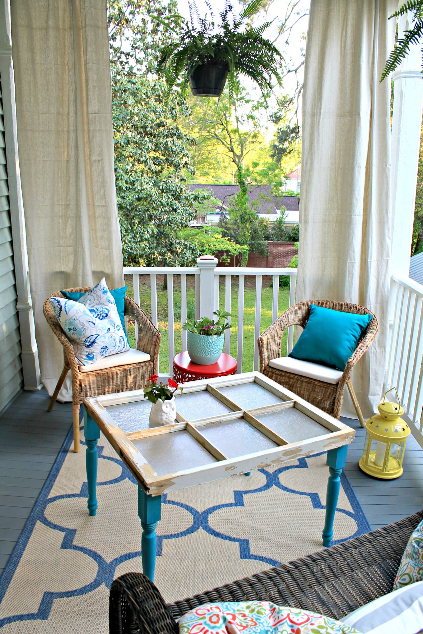 This Sunny Porch Went From Worn to Wonderful