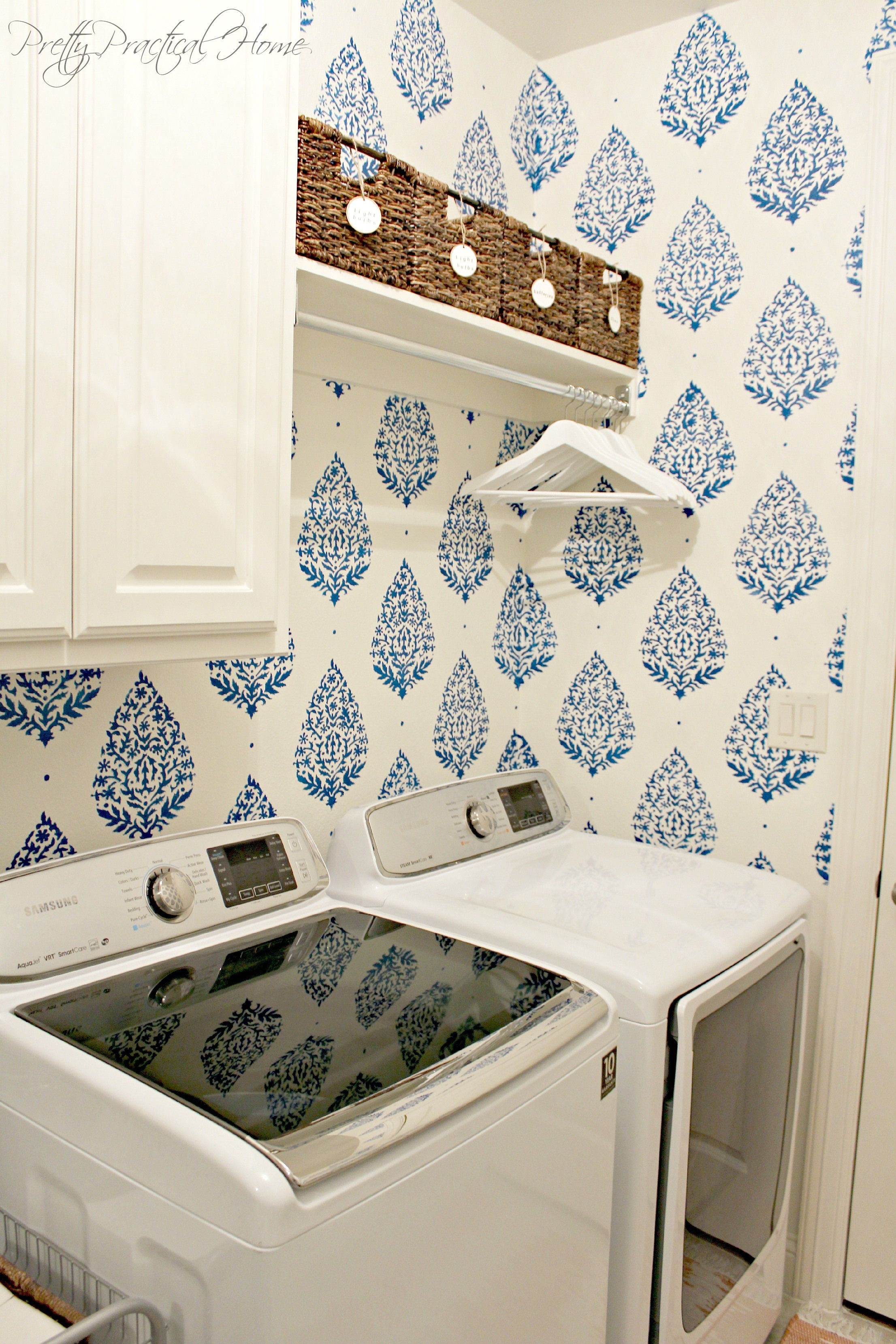 A Laundry Room That Begs You to Stay Awhile