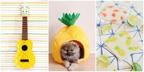Pineapple crafts
