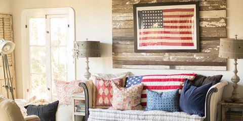 9 Perfect Spots to Display Antique American Flags