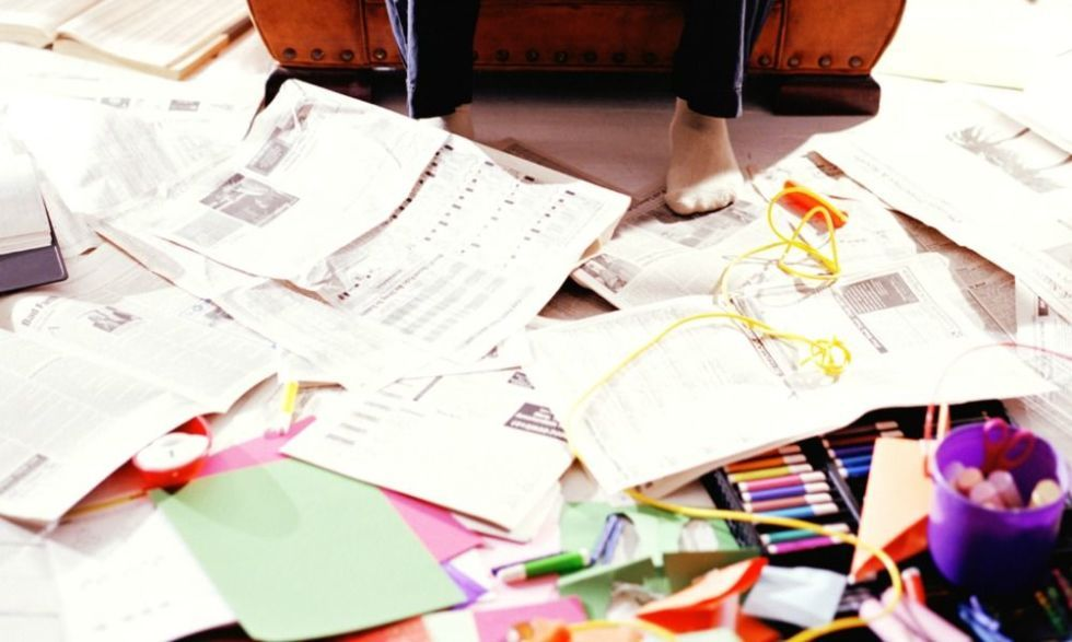 9 Real-Life Ways to Banish Paper Clutter