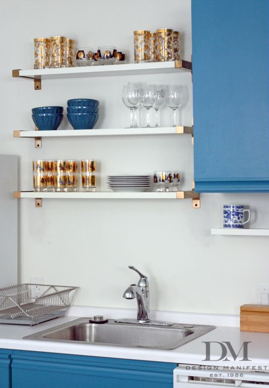 Wall Kitchen Shelves   Interior Design