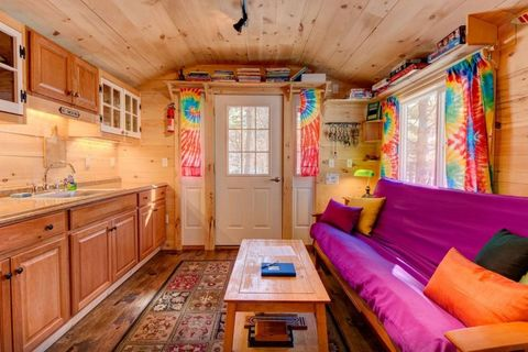 Vermont Tiny Home Interior