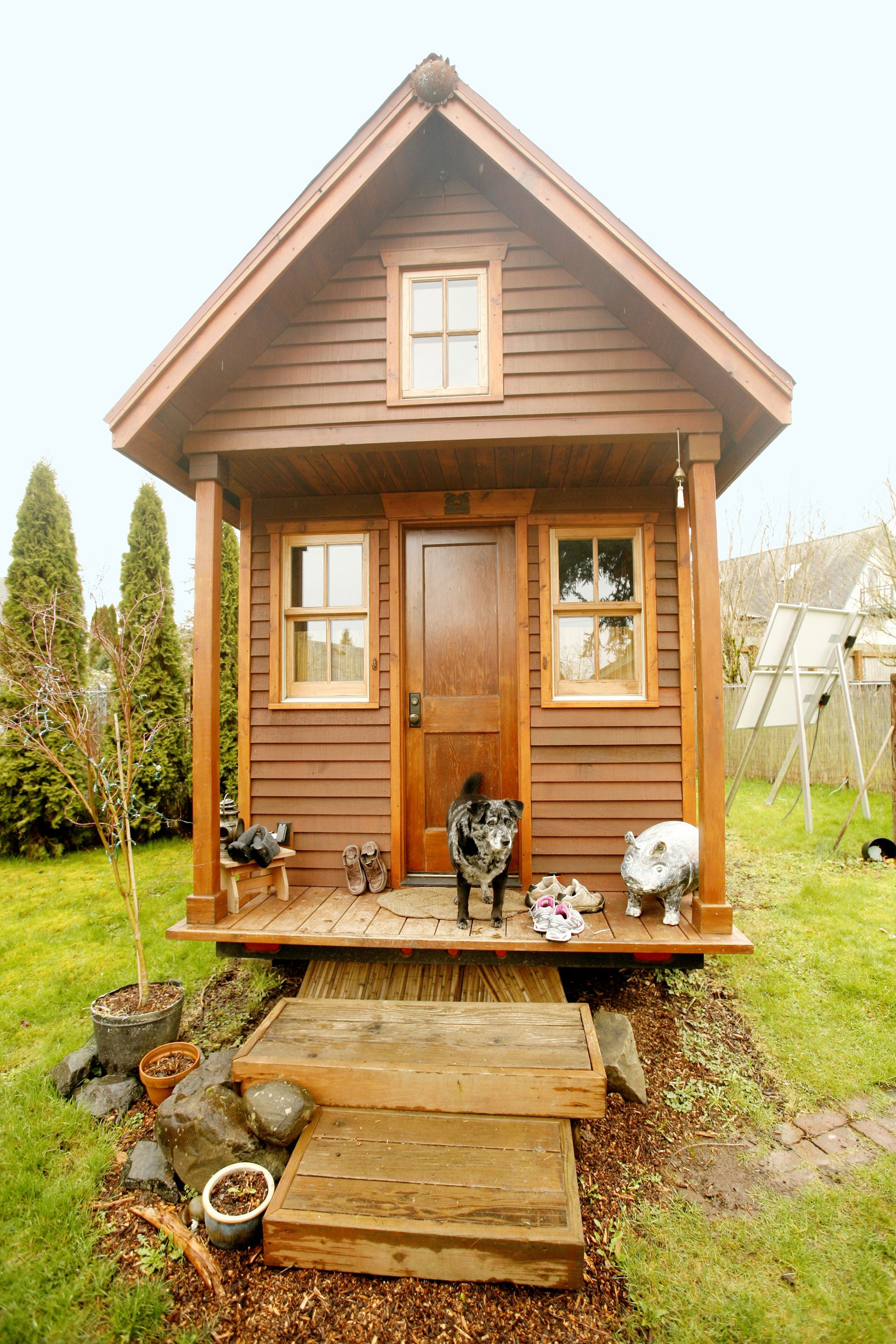 This Tiny House Helped Save Its Owners Life