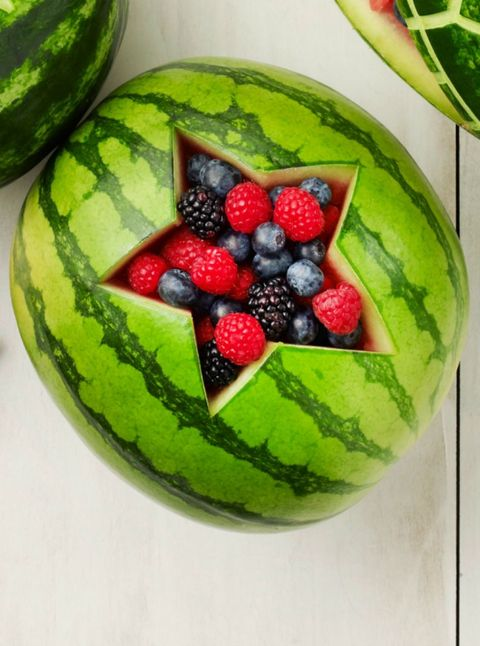 Watermelon with Star