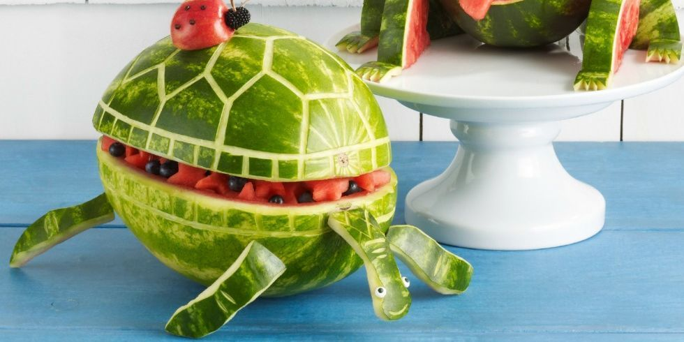 7 Watermelon Sculptures That Almost Look Too Good to Eat