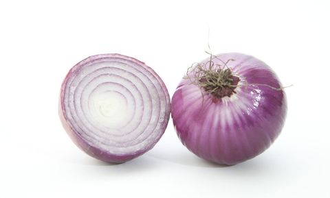 The moisture of the refigerator will eventually turn onions soft and moldy. Keep them in a cool, dry place instead. But don't put them near your potatoes. When stored together, both deteriorate faster.