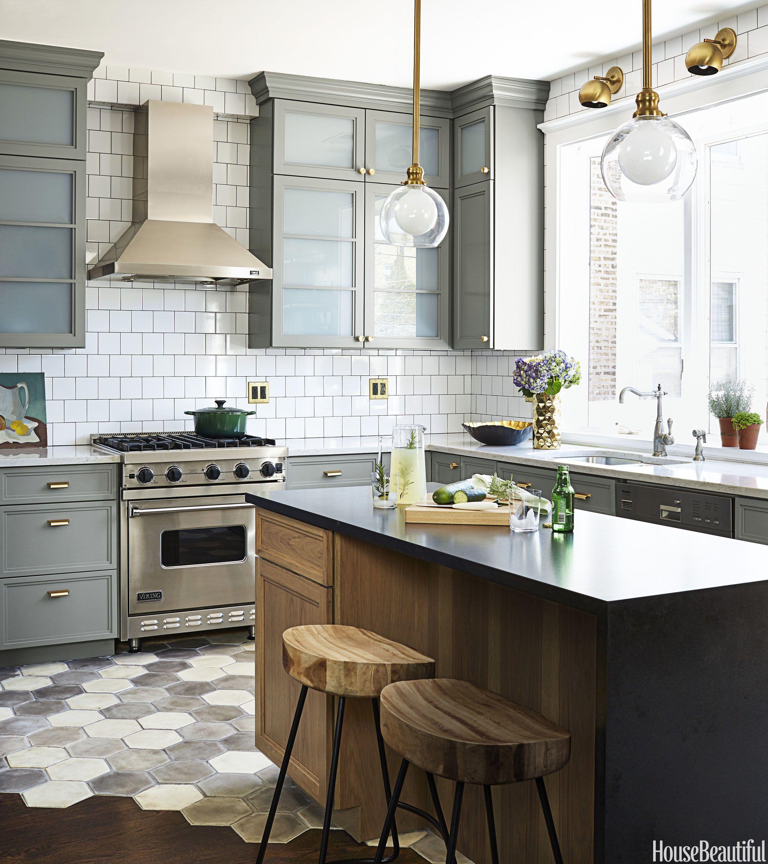 10 best kitchen floor tile ideas pictures kitchen tile design trends rh housebeautiful com ceramic kitchen floor tile ideas white kitchen floor tile ideas