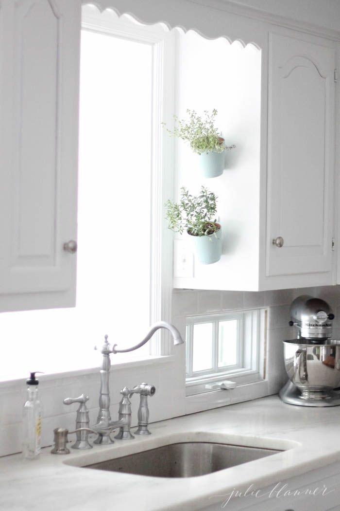 Indoor Hanging Herb Planters Part - 23: House Beautiful