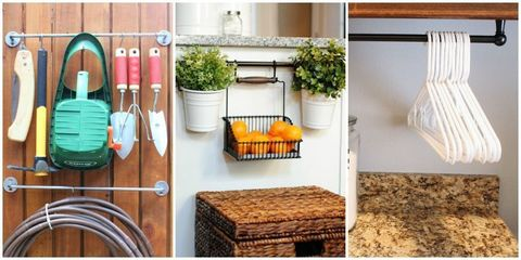 9 Clever Ways to Organize With a Towel Bar