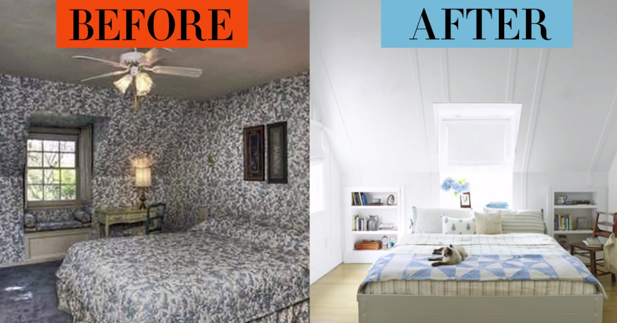 Bedroom Makeovers Before and Afters